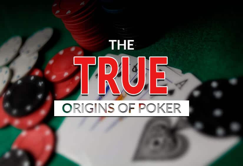 The History of the Game of Poker